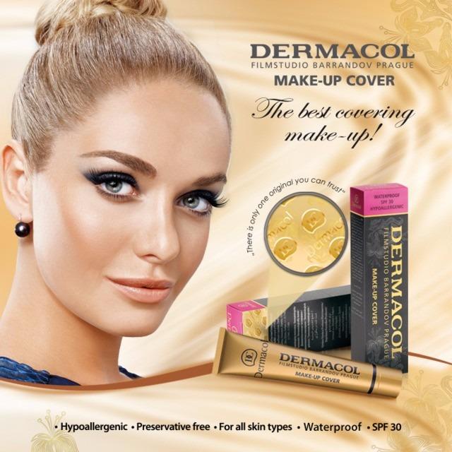 maquillaje dermacol make up cover waterproof spf 30. Black Bedroom Furniture Sets. Home Design Ideas