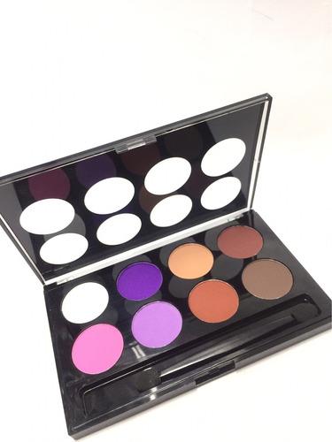 maquillaje dolce bella paga ojos x 8 colores mate