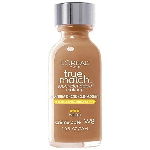 maquillaje fundación superdurable l'oréal paris true match,