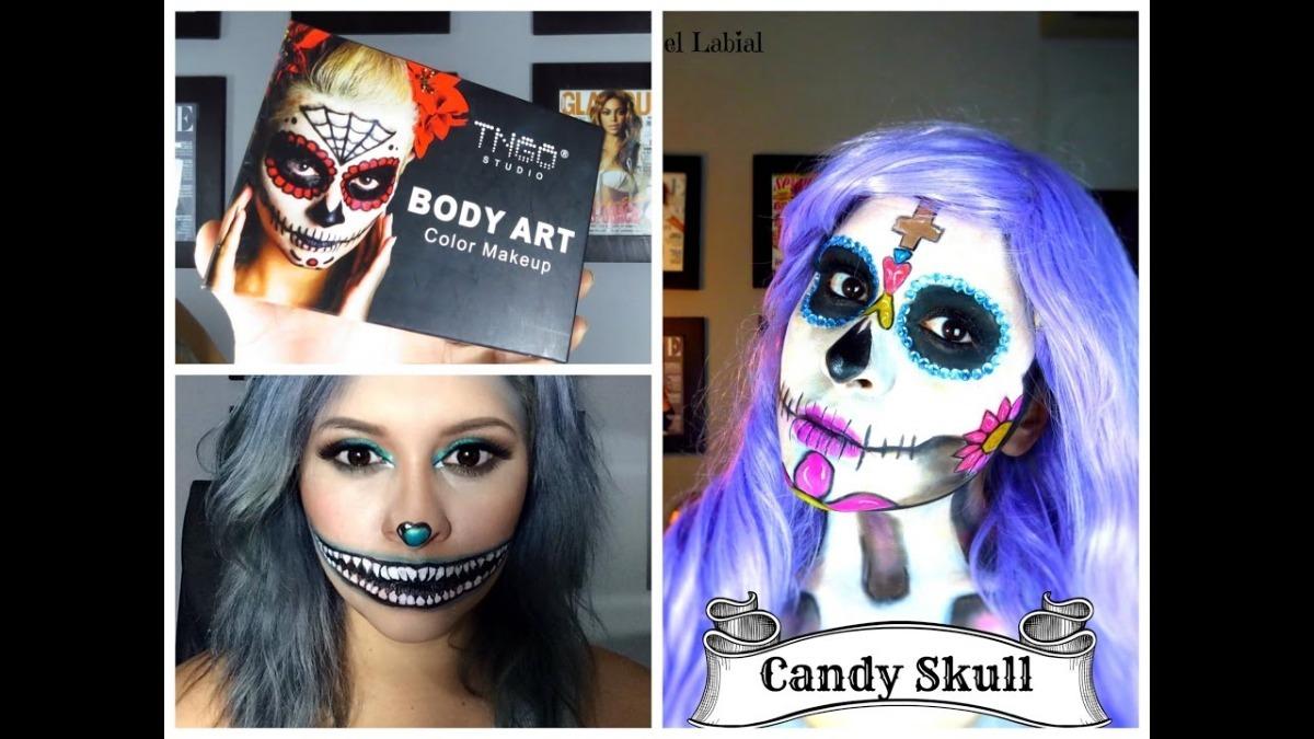 Maquillaje Halloween Body Art Tngo Maquillaje Profesional 16000 - Maquillaje-profesional-halloween