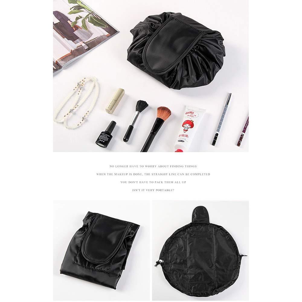 Bolsas de cosm/éticos de Viaje Bolsa con Cepillo Seta roja Bolsa de Herramientas de Maquillaje cosm/ético Bolsa de Almacenamiento