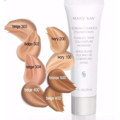 maquillaje liquido de cobertura media mary kay beige 400
