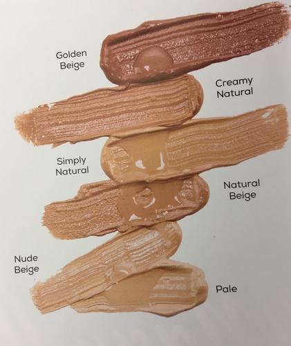 maquillaje líquido de larga duración