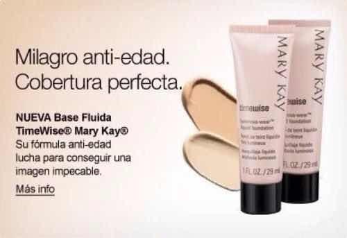 maquillaje liquido mary kay (base)