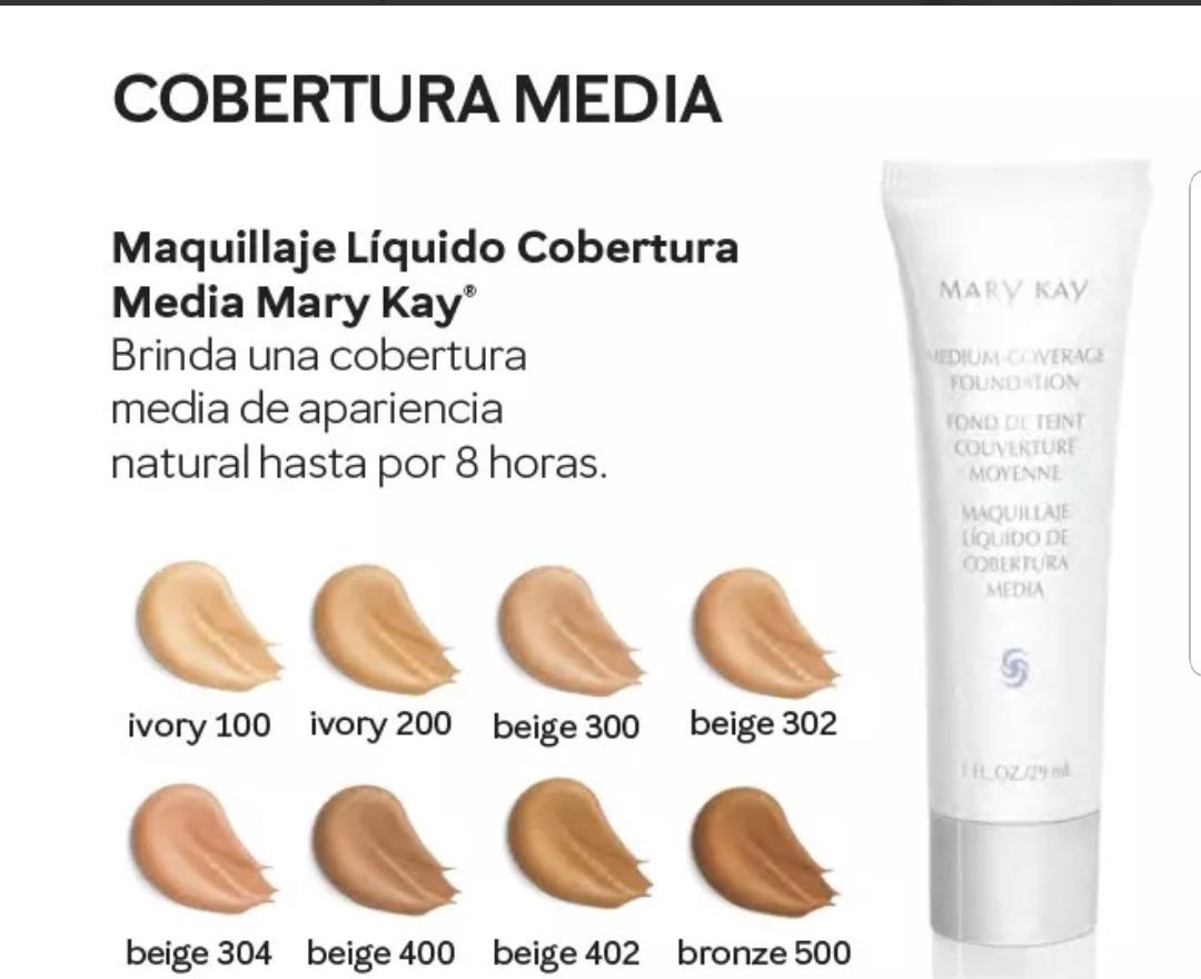 01c91cb12 Maquillaje Mary Kay Liquido Cobertura Media - $ 167.00 en Mercado Libre