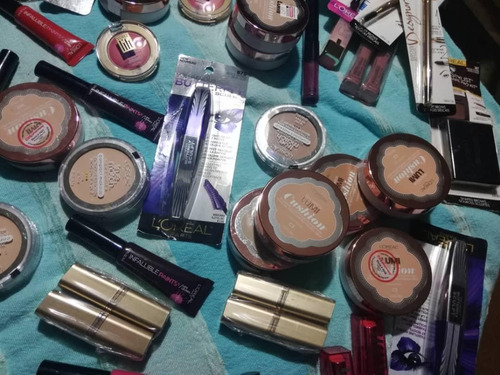 maquillaje maybeline y loreal