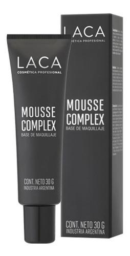 maquillaje mousse complex base laca
