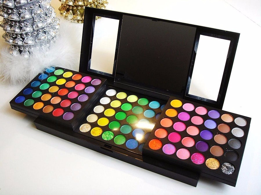 Paleta Profesional de 180 sombras Scents Maquillaje perfecto