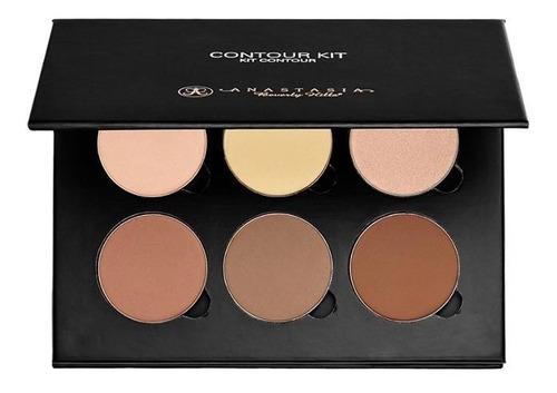 maquillaje paleta anastasia kit contorno e iluminador polvo