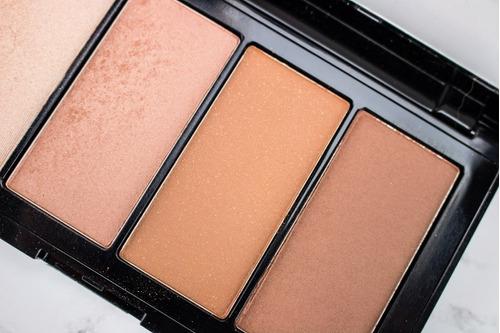 maquillaje paleta rubor maybelline master bronze para rostro