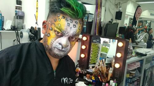 maquillaje para halloween en memopelos bogota domicilios