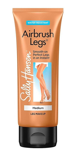 maquillaje para piernas sally hansen airbrush legs medium