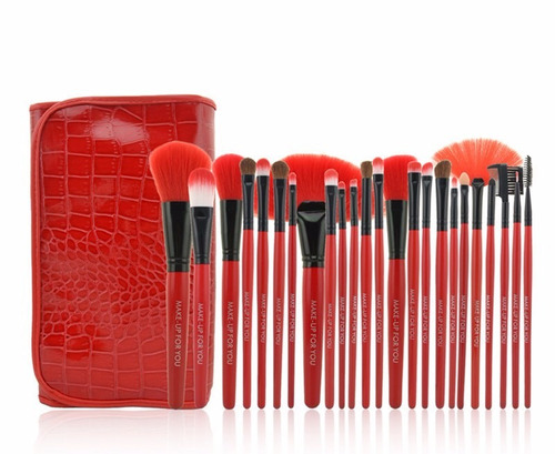 maquillaje piezas make set brochas para