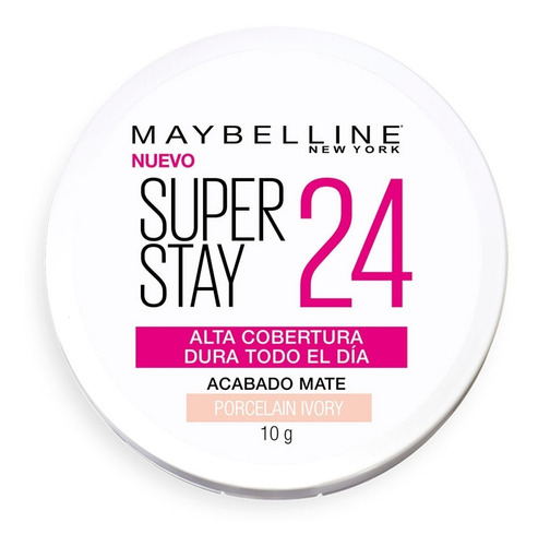 maquillaje polvo cobertura powder superstay 24 maybelline