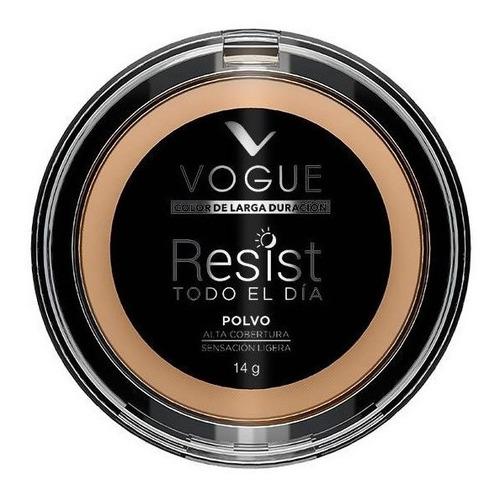 maquillaje polvo compacto vogue resist larga duracion