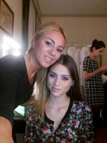 maquillaje profesional para eventos y alisados de cabello