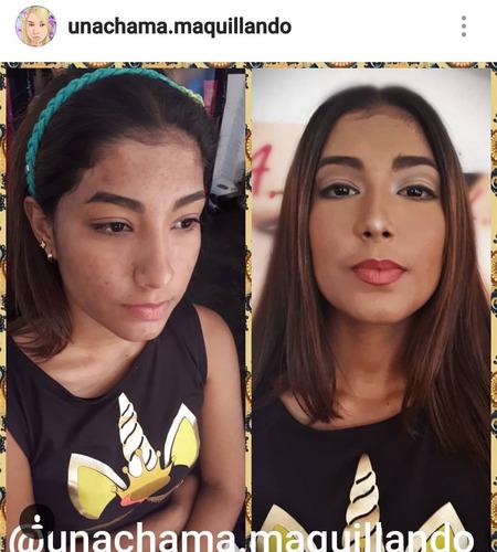 maquillaje profesional social y cursos de automaquillaje
