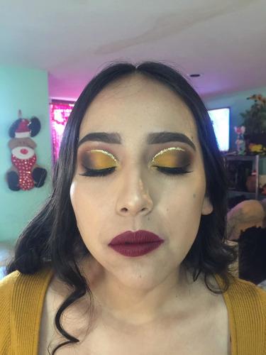 maquillaje social, novias, xv años y caracterización
