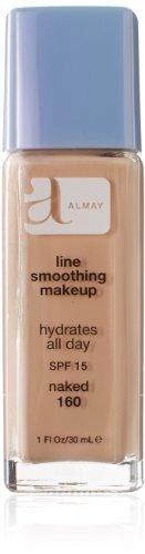 maquillaje suavizante de línea almay con spf 15 naked 160 bo