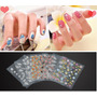 50pcs 3d Nail Art Sticker Calcomanías Agua Decoración Nail