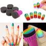 Nail Art Stamping 1 Stamper 4 Cambiable Esponja Shade