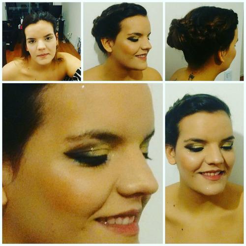 maquillaje y peinado para novias, 15 años, books de fotos...