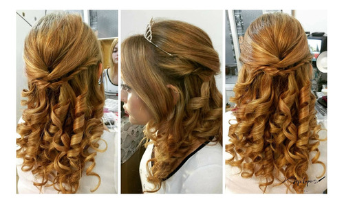 maquillaje y peinado para novias - quinceañeras- invitadas