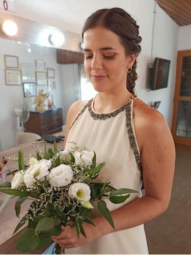 maquillaje y peinado profesional novias quince zona norte