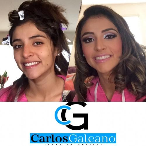 maquillaje y peinado profesional servicio a domicilio.