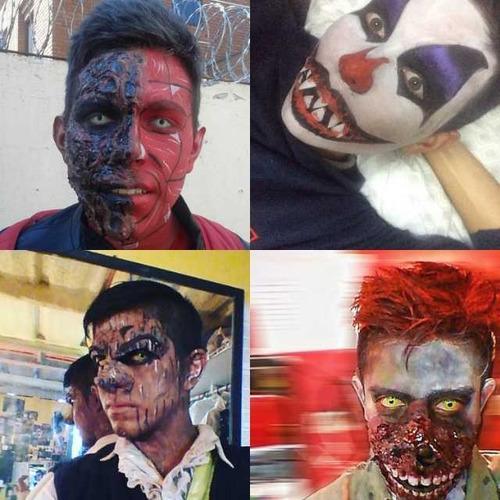 maquillajes de efectos especiales
