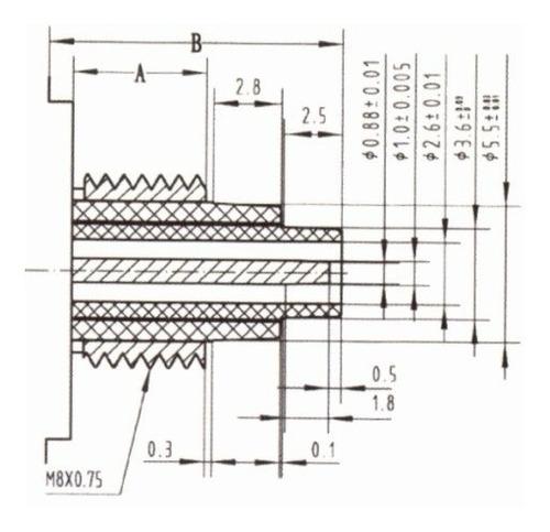 máquina 11mm quartz anti-horario tic-tac para relógio parede
