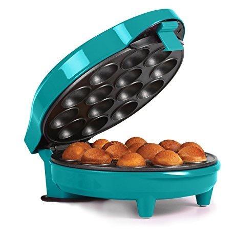 maquina 14 cupcake pops marca holstein - azul