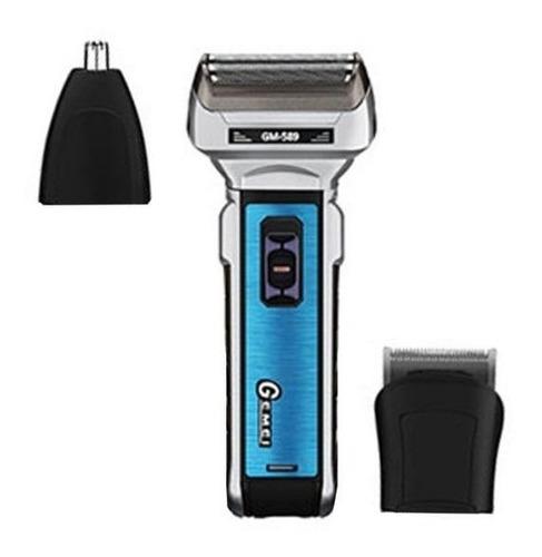 maquina 3 en 1 afeitadora gm-572/589 electrica