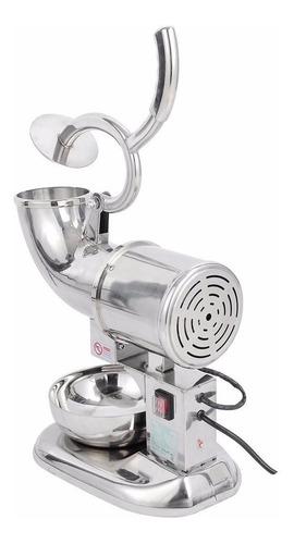 maquina 440lb/h para cholados triturador de hielo industrial