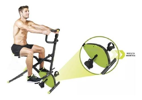 máquina abdominal y cardiovascular sport fitness multiusos