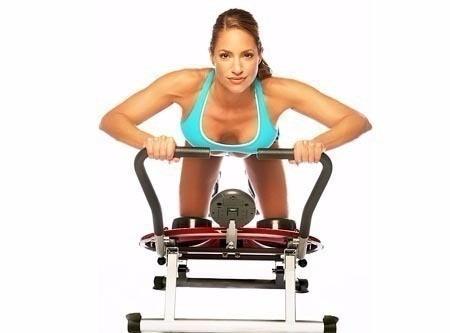 maquina abdominales ejercicio circular ab cicler pro nuevas