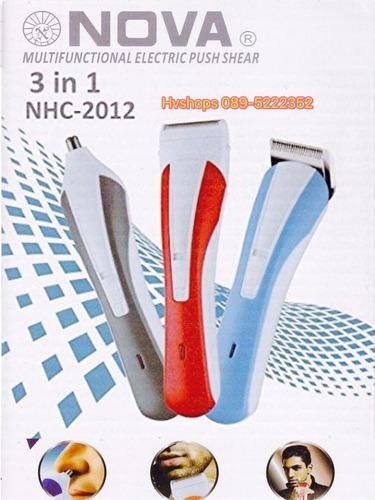 maquina afeitadora cortadora de cabello y barba 3 en 1 ofert