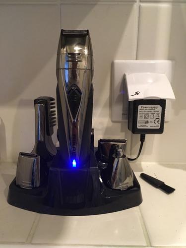 maquina afeitadora electrica 8 en 1 barba nariz oido cejas