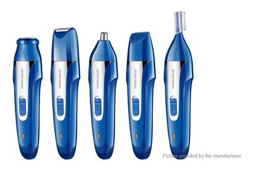 maquina afeitadora electrica barba nariz cejas 5 en 1