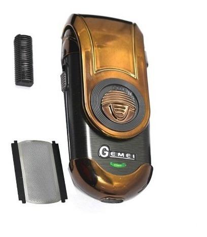 máquina afeitadora eléctrica gemei gm-9001 recargable