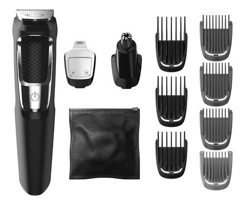 maquina afeitadora philips electrica 13 en 1 barba mg3750/50