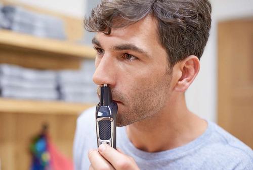 maquina afeitadora philips electrica 13en1 barba nariz oreja