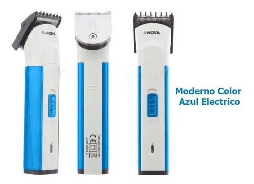 maquina afeitadora y patillera electrica nova nhc401
