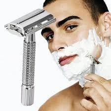 maquina afeitar +10 hojas / bazar james  la pintana