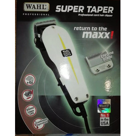Maquina Afeitar Cortar Cabello Wahl Super Taper Made In Usa