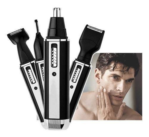 maquina afeitar eléctrica 4 en 1 trimmer recargable dl7003