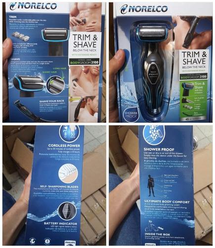 maquina afeitar philips bg2034 electrica corporal env gratis