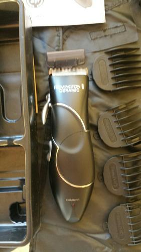 máquina afeitar remington, equipo completo peluquería