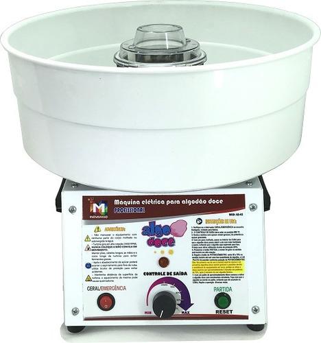 máquina algodão doce - festas - aluguel - buffet + kit
