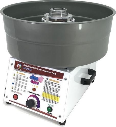 máquina algodão doce profissional ad-43 inovamaq